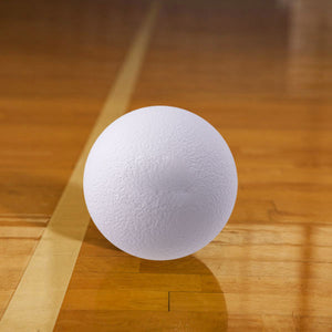 Rhino Skin Low Bounce Dodgeball White - 6 inch