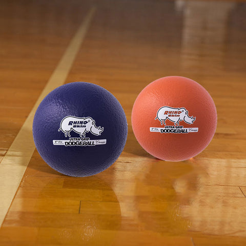 Rhino Skin Low Bounce Ultra Grip Dodgeball Set