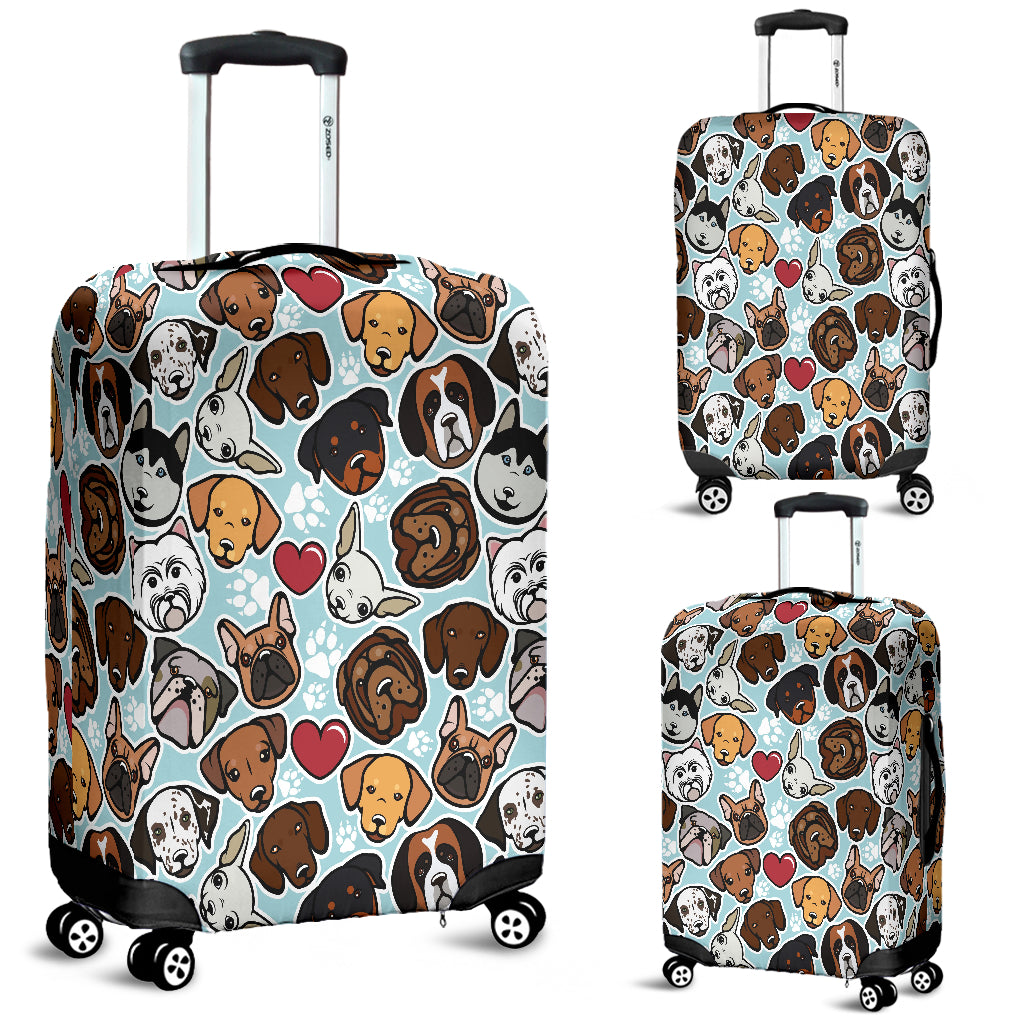 Copy of Dog Lovers Luggage Cover