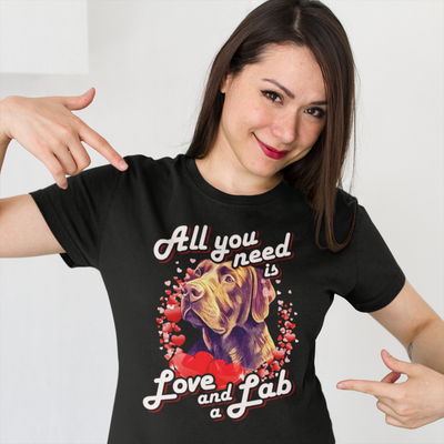 All You Need Is Love & Lab Tee