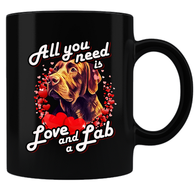 All You Need Is Love & Lab Mug