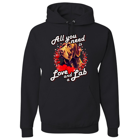 All You Need Is Love & Lab Hoodie