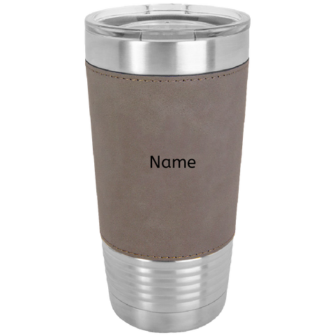 20 oz. Laserable Leatherette Polar Camel Tumbler ( No color Art)