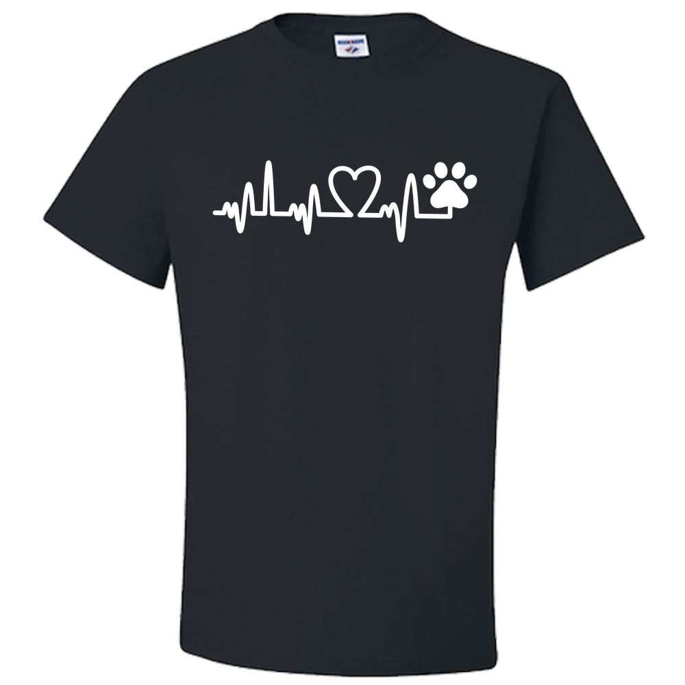 Paws In My Heart Tee
