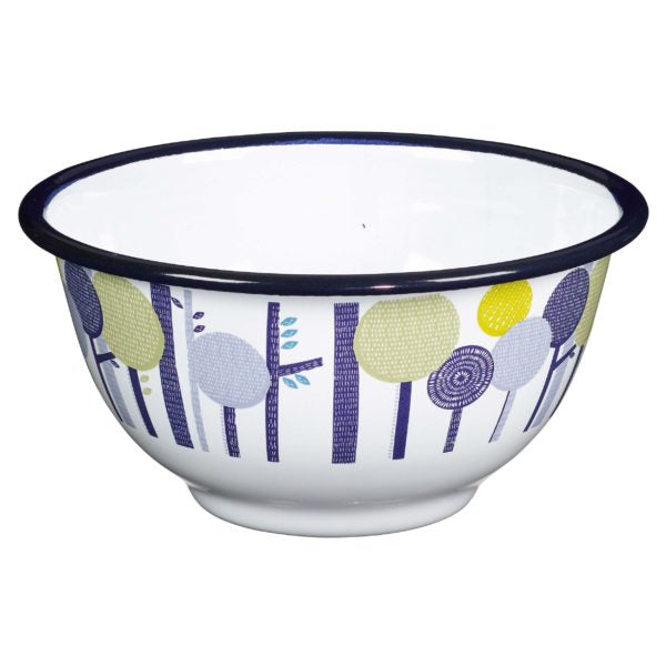 Folklore Designer Enamel Bowls (Set of 4)