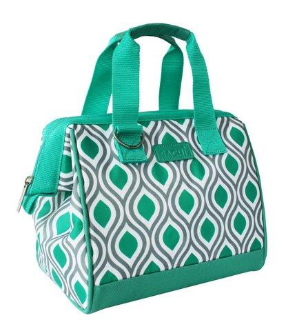Sachi Insulated Lunch Bag Peacock Jade