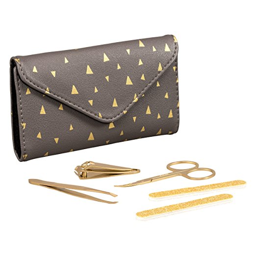 Folklore 5 Piece Gold Manicure Set