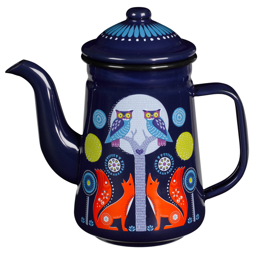 Folklore Designer Night Coffee Pot for Coffee and Tea
