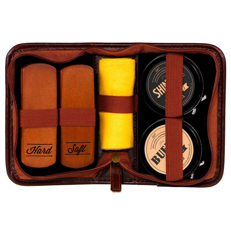 Shoe Shine Kit by Gentlemen's Hardware
