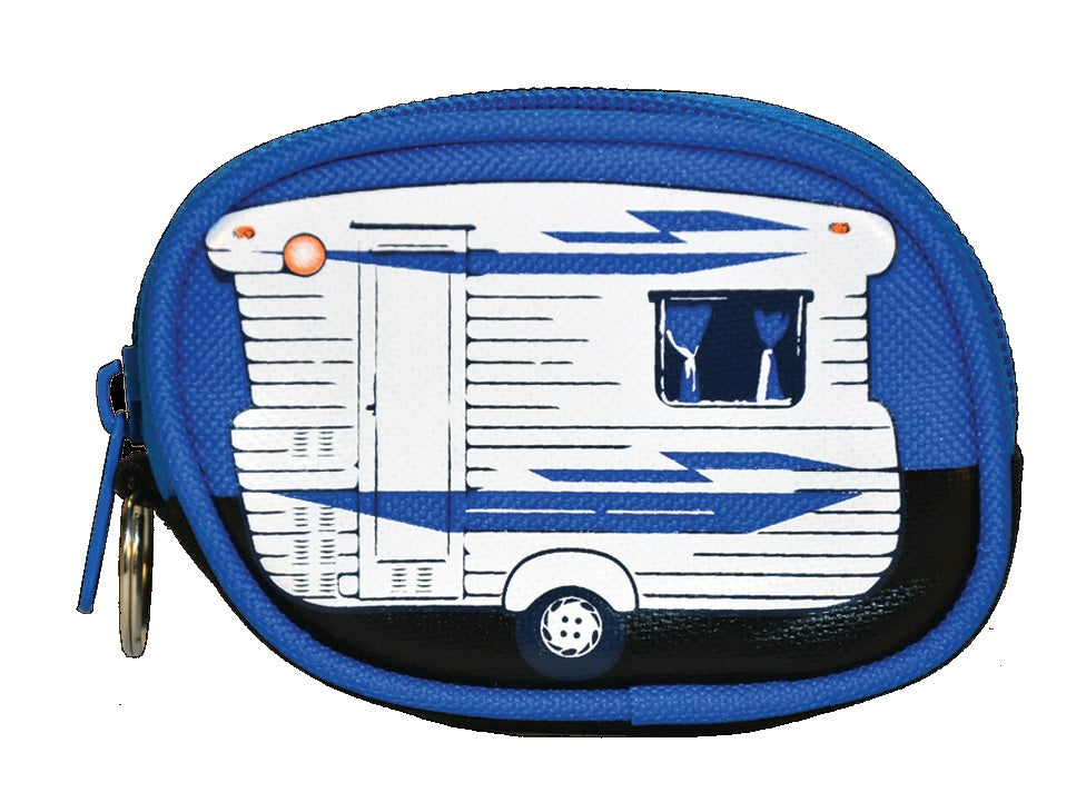 Caravan Coin Purse - Blue