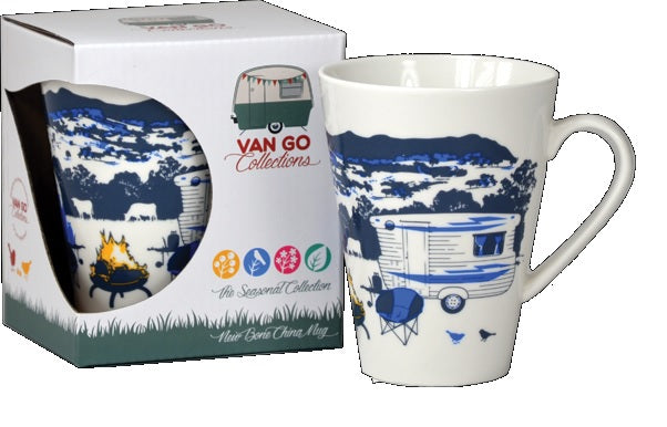 Caravan Coffee Mug -Seasonal Collection  - Winter, by Van Go Collections