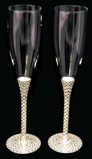 Premium Diamond Flutes (Pair)