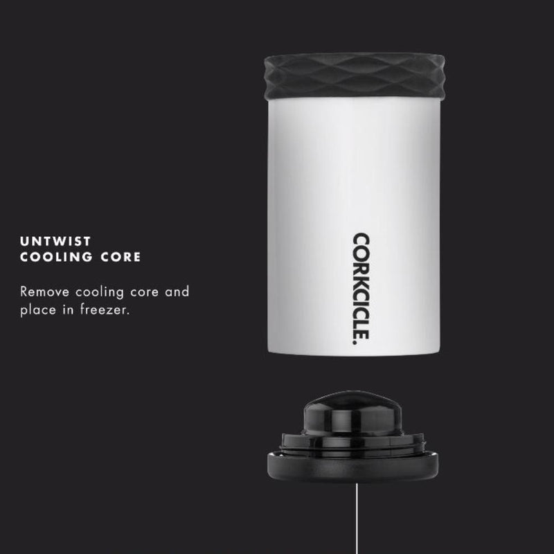 Corkcicle Stubby Cooler (White)