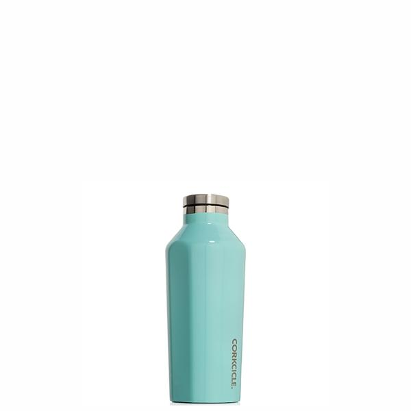 Corkcicle Insulated Reusable Water Bottle - 265ml - Turquoise