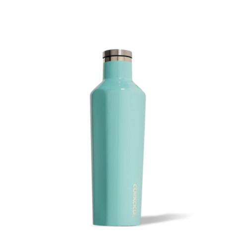 Corkcicle Insulated Reusable Water Bottle - 475ml - Turquoise