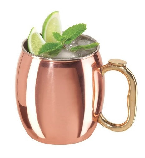 Moscow Mule Copper Plated Stainless Steel 590ml Mug