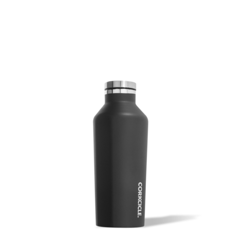 Corkcicle Insulated Reusable Water Bottle - 9oz / 265ml - Matte Black