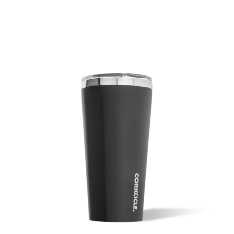 Corkcicle Reusable Insulated Coffee Cup - Matte Black  475ml Tumbler