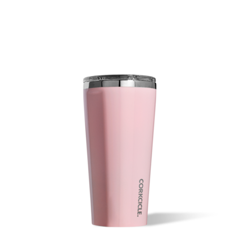 Corkcicle Reusable Insulated Coffee Cup  - Rose Quartz 475ml Tumbler