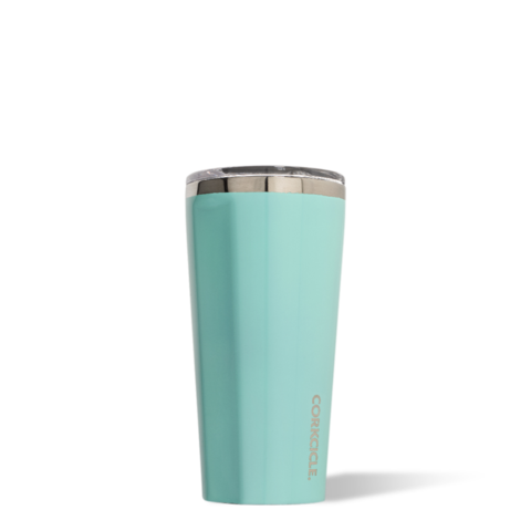 Corkcicle Reusable Insulated Coffee Cup - Turquoise 475ml Tumbler