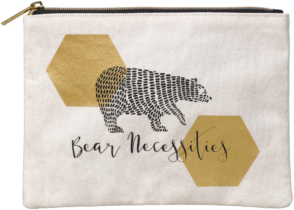 Folklore Bear Necessities Large Designer Pouch Bag