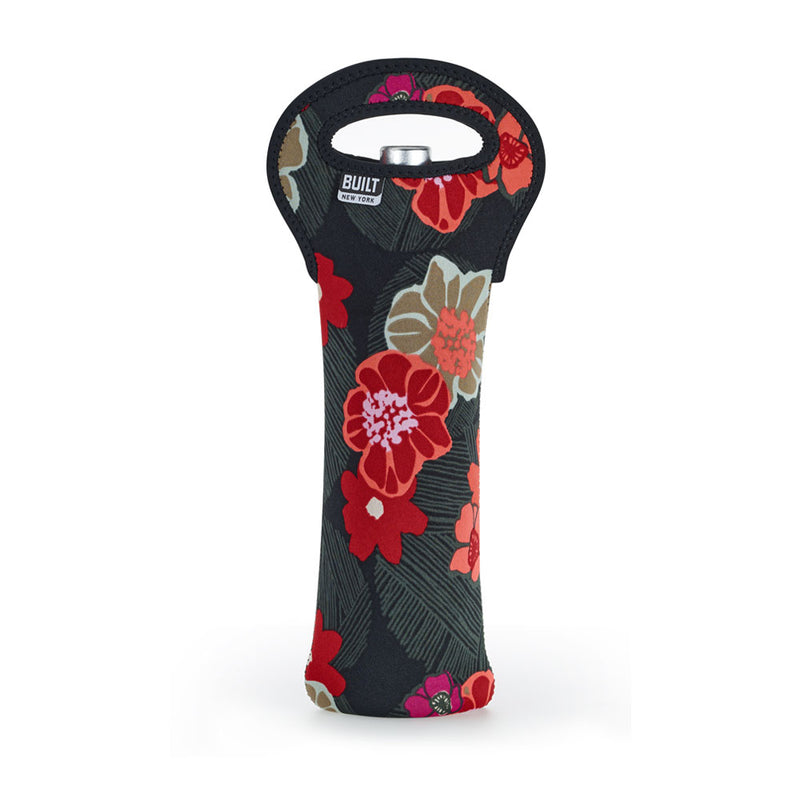 BUILT NY - Wine Bag - Single Bottle - Poppy Floral