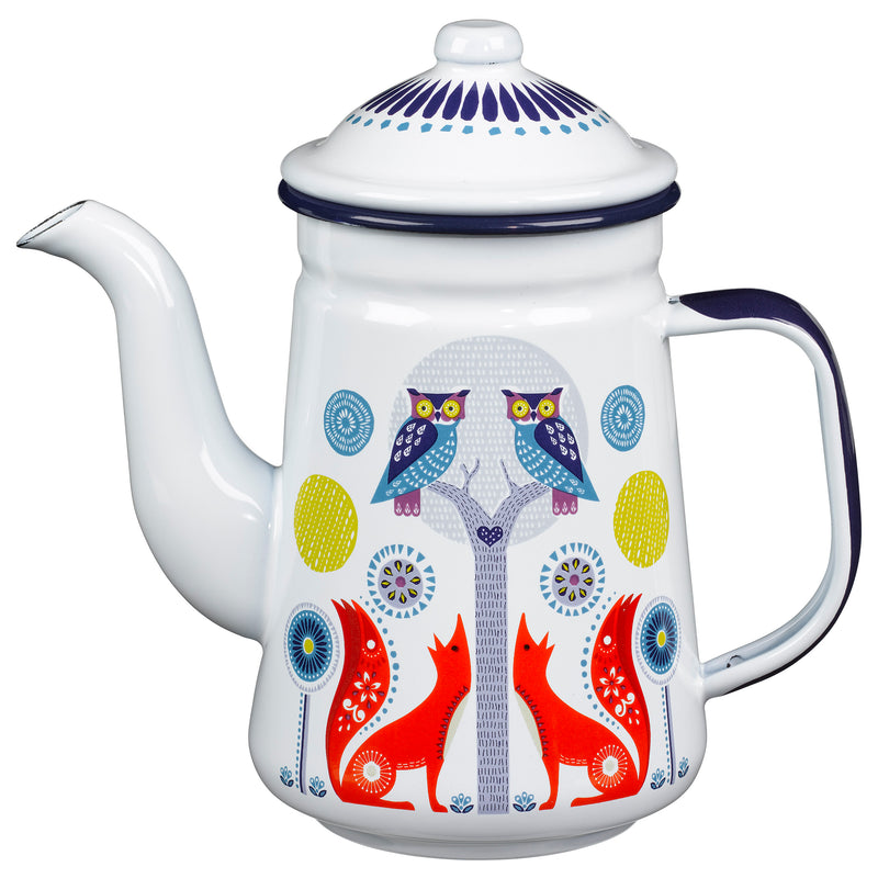 Folklore Designer Day Coffee Pot for Coffee Lovers