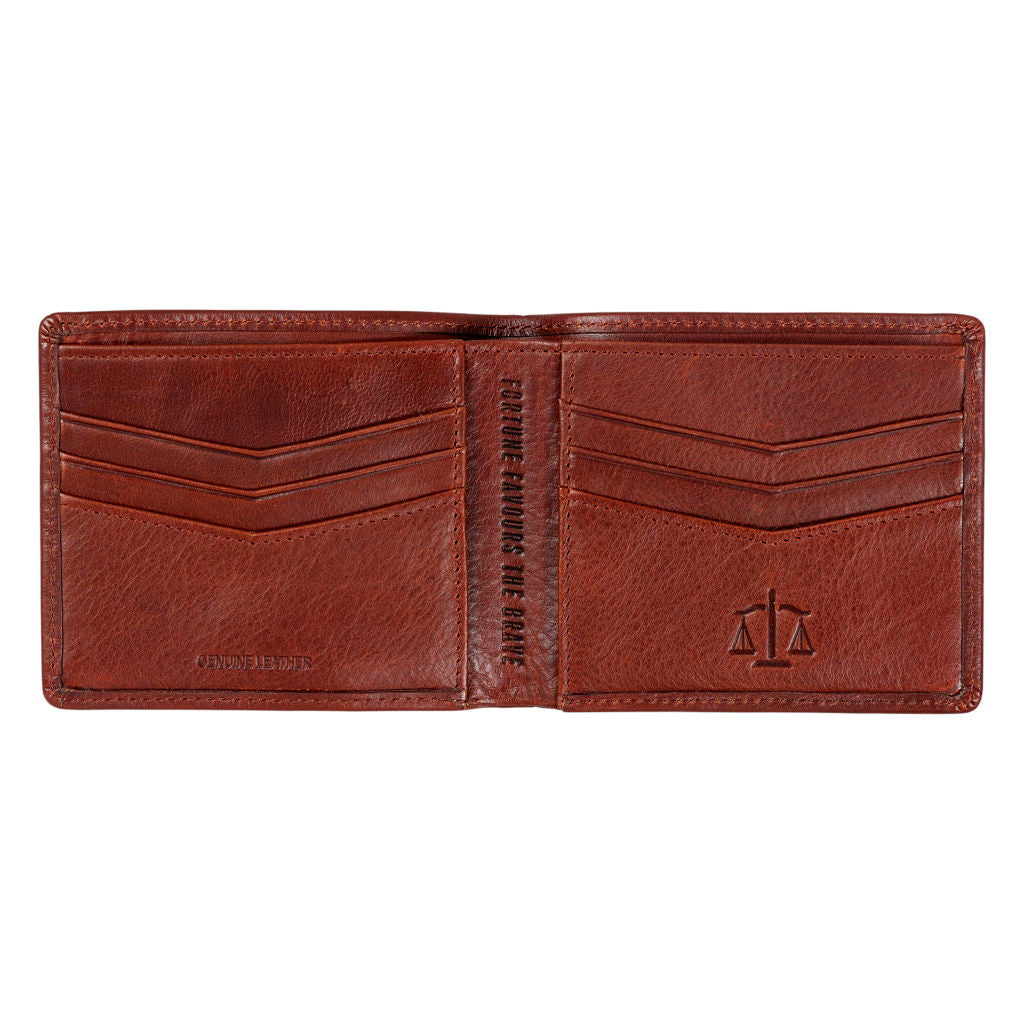 Men's Leather Bi Fold Wallet by Gentlemen's Hardware