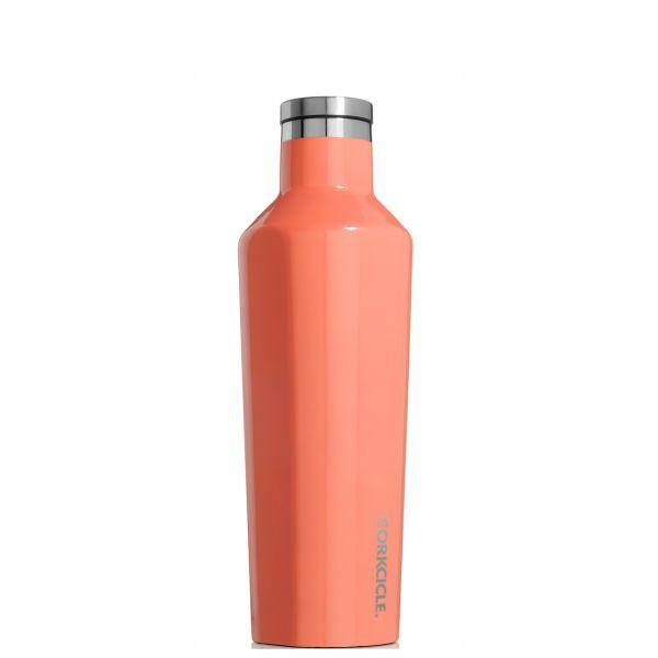 Corkcicle Insulated Reusable Water Bottle - 475ml - Peach Echo