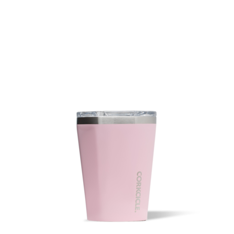 Corkcicle Reusable Insulated Coffee Cup  - Rose Quartz 355ml Tumbler
