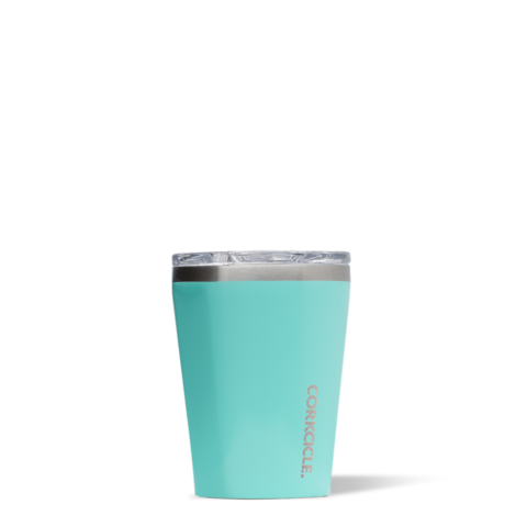 Corkcicle Reusable Insulated Coffee Cup  - Turquoise 355ml Tumbler