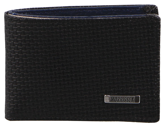 Morrissey Black Men's Wallet | Italian Leather