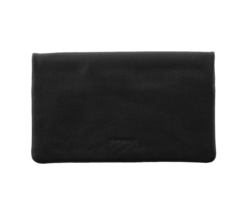 Pierre Cardin Italian Leather Ladies Wallet (PC10842) - Black