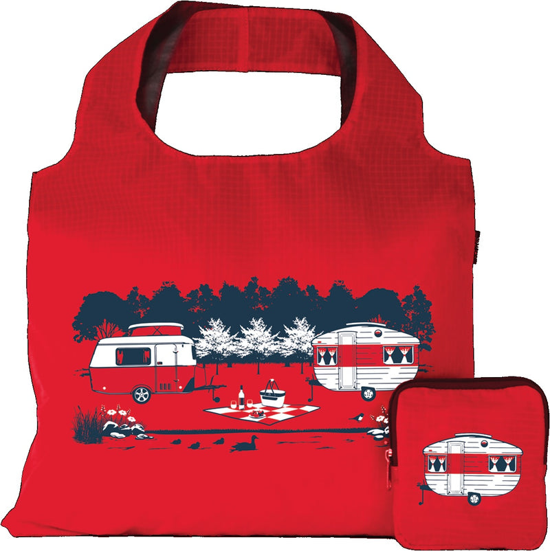Caravan Reusable Tote Carry Bag - Red