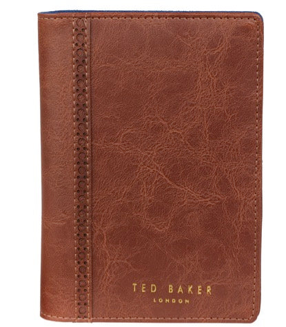 Ted Baker Brogue Travel Wallet & Pen