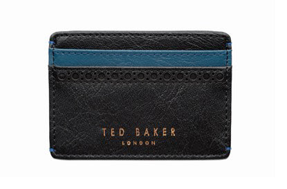 Leather Card Hold and Keyring Set 2pce by Ted Baker