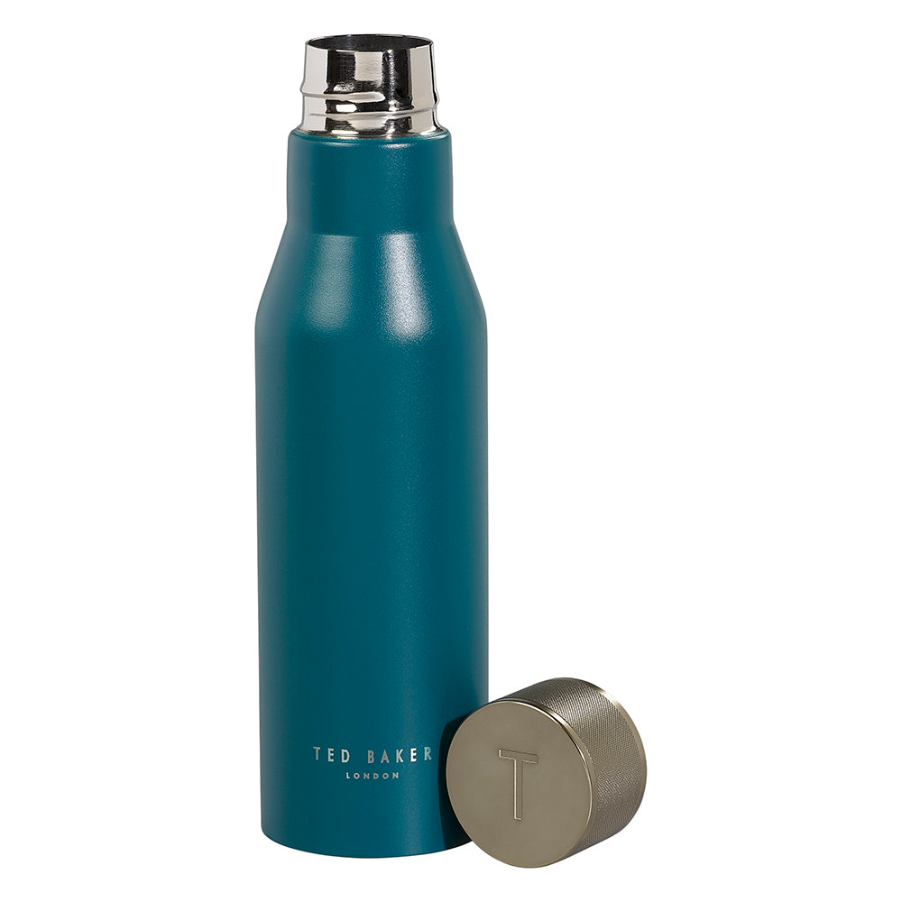 Ted Baker Double Insulated Reusable Water Bottle - Emerald Green