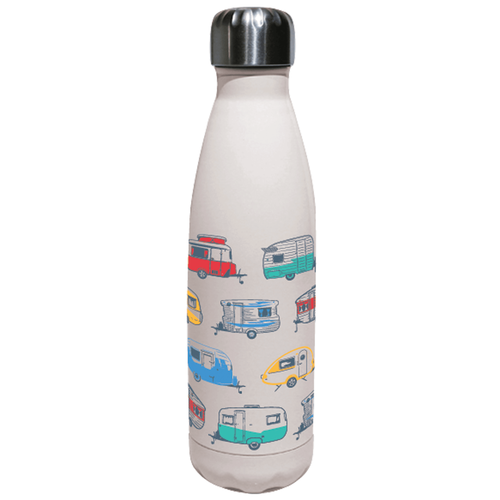 Caravan- Insulated Water Bottle - Van Co Collections (White)
