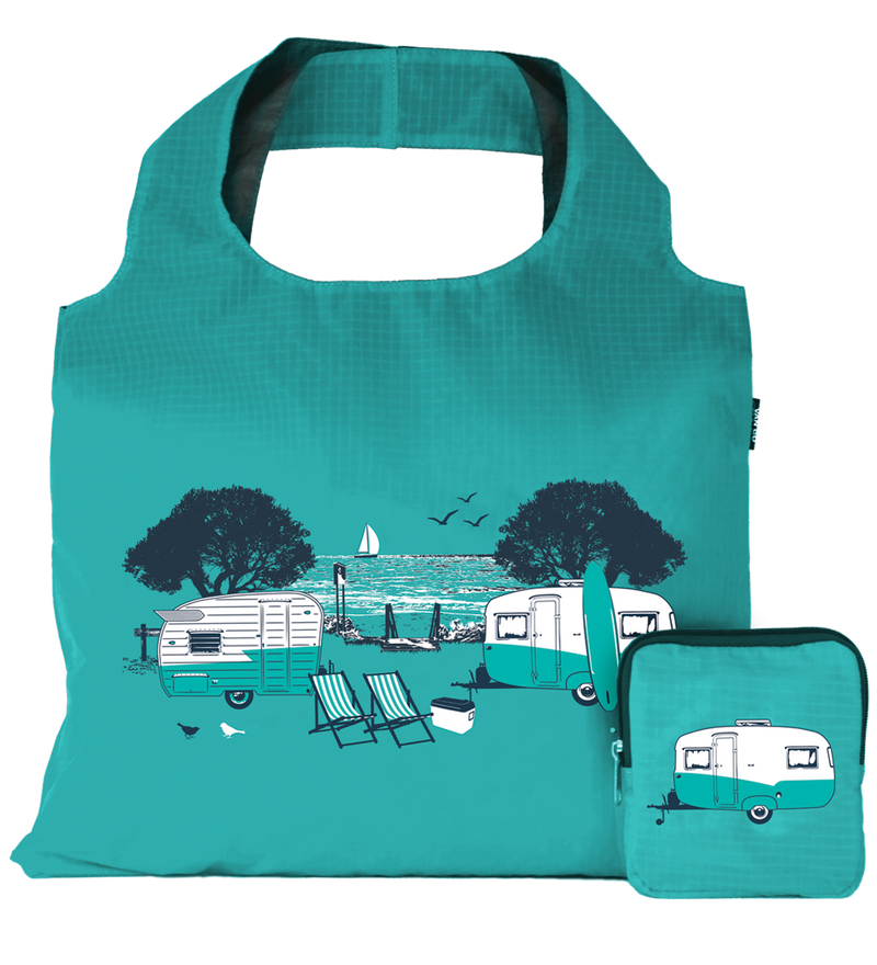 Caravan Reusable Tote Carry Bag - Green