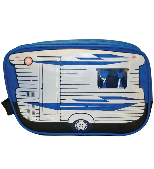 Blue Caravan Toiletry Bag - Van Go Collections