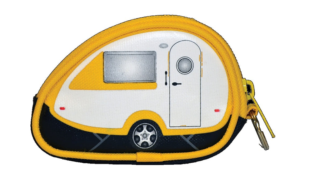 Caravan Coin Purse - Yellow