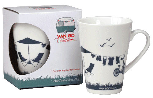 Caravan Coffee Mug -Summer Home by Van Go Collections