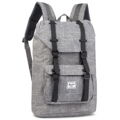HERSCHEL LITTLE AMERICA BACKPACK M RAVEN X/BLACK - D'Studio