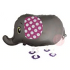 Walking Pet Balloon - Elephant (Silver) - D'Studio