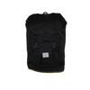 HERSCHEL LITTLE AMERICA BACKPACK 600D POLY BLK/BLK PU - D'Studio