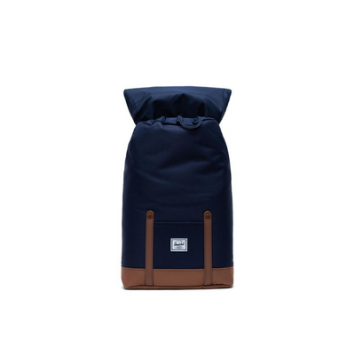 Herschel Retreat Backpack Mid-Volume PEACOAT/SADDLE BROWN - D'Studio