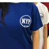 NYP LOGO R/N TEE ROYAL BLUE - D'Studio