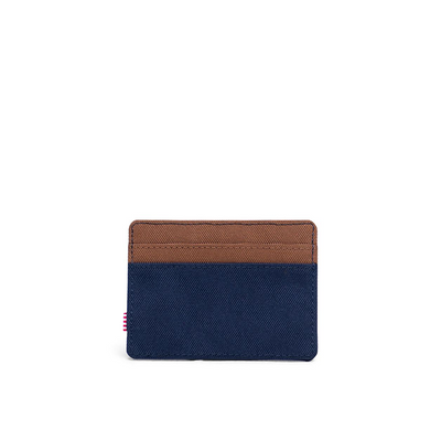 HERSCHEL CHARLIE WALLET PEACOCK/SADDLE BROWN - D'Studio