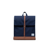 HERSCHEL CITY MID-VOLUME BACKPACK PEACOCK/SADDLEBROWN - D'Studio
