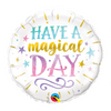 18″ Have a Magical Day Foil Balloon - D'Studio